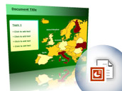 PowerPoint Maps - Europe Map (PPT)