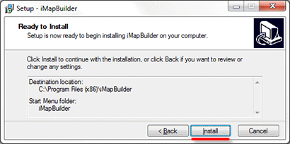 start software installation