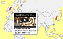 paste your code in map infobox e.g. embed video player