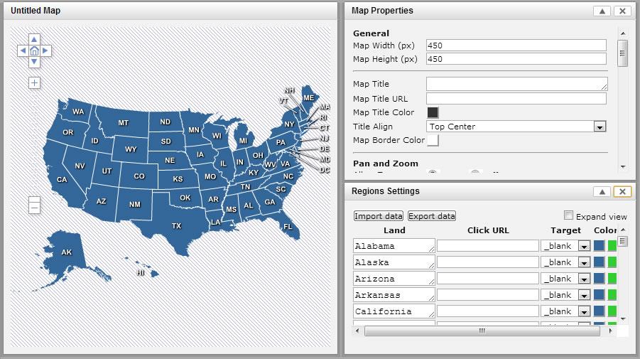 Map Editor User Interface