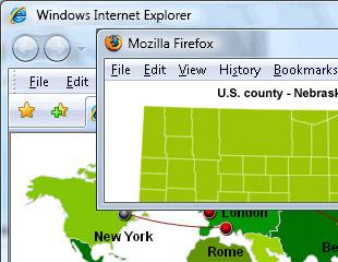 iMapBuilder Interactive Flash MapBuilder 5.28