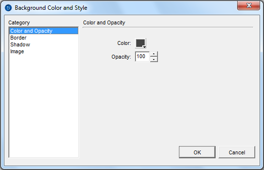 Change The Background Color And Style Of The Map Imapbuilder Software