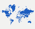 Interactive HTML5 Map of World Countries