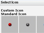 import custom icon fo maps