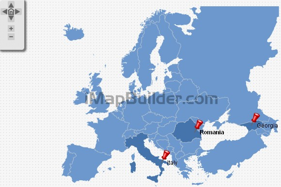 europe interactive map image search results