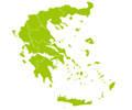 Greece Map - Basic Theme