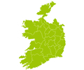 Ireland Map - Basic Theme