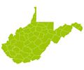 U.S. - West Virginia (Lat / Long support)