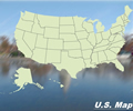 United States Map - Riverside Theme