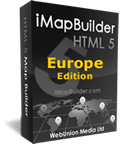 html5 map software europe edition