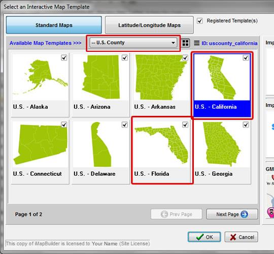 Create Us County Map