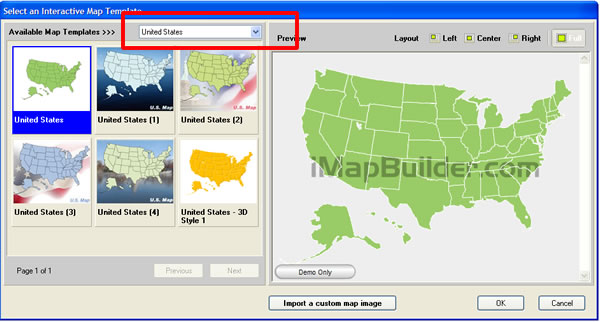 Create US Map With Software - Create us map